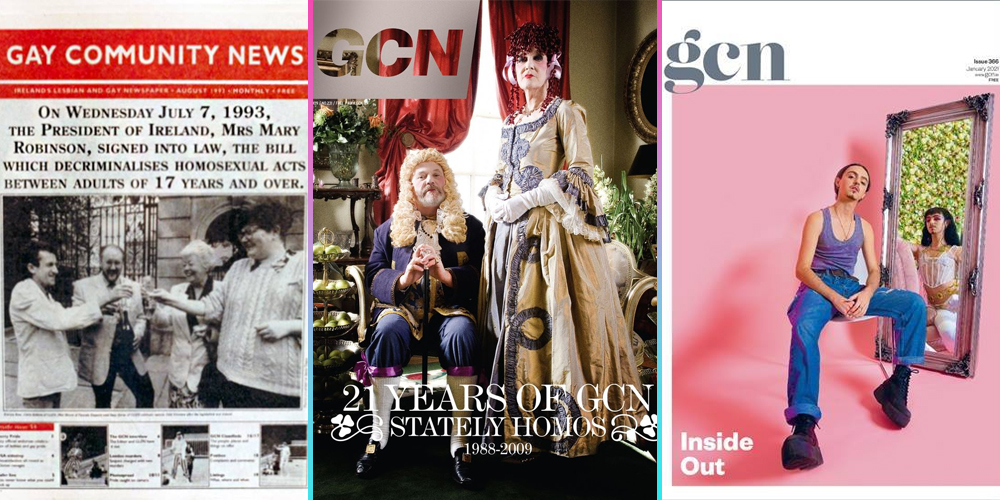 GCN is 33: from L-R three iconic covers