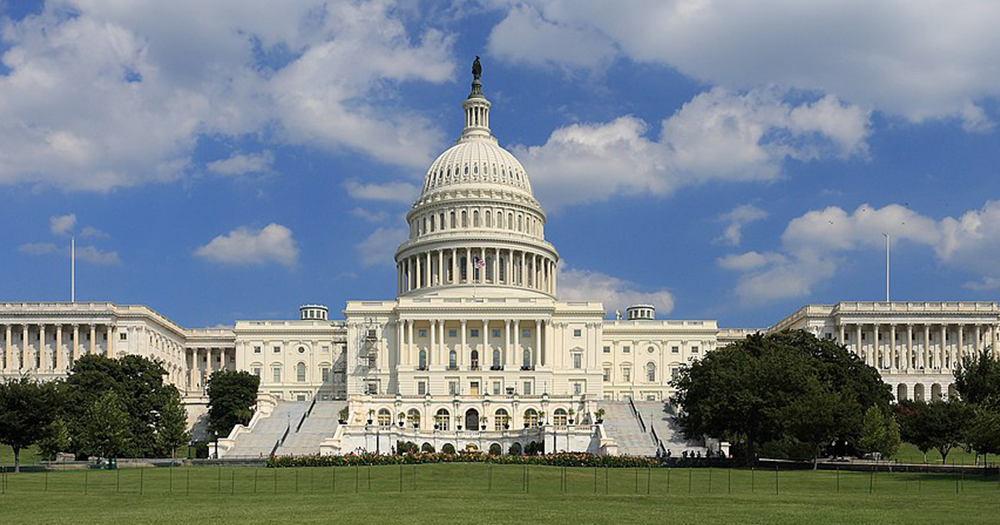 The Senate building in Washington