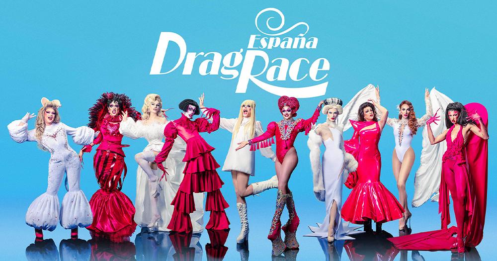 The cast of Drag Race España