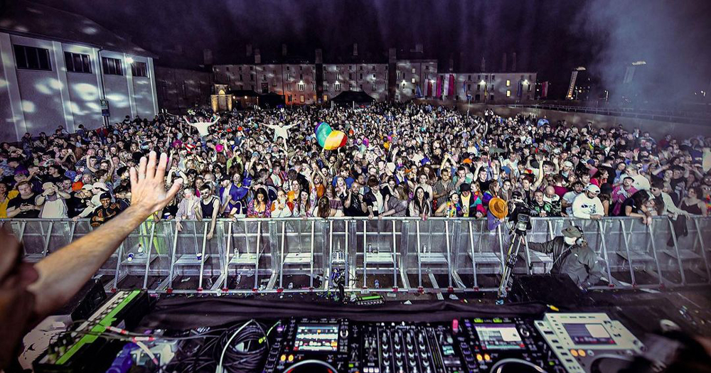 Mother Block Party makes triumphant return: pic of the crowd from the main stage